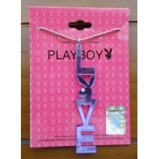Playboy Bunny Love Necklace Pendant